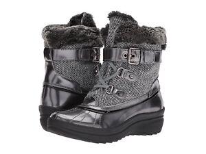Anne Klein Women's Gallup Cold Weather Bootie Size 5.5 Grey Multi