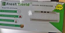 NEW FRESH WORLD TVS VACUUM FOOD MEAT SEALER MACHINE GOLD  FREE PRIORITY S&H