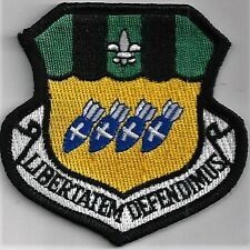USAF 2nd BOMB WING PATCH -                                                 COLOR