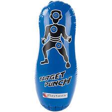 Punchingball: Aufblasbarer Anti-Frust-Punching-Ball 100cm mit Soundeffekt