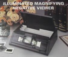 Lecteur de négatifs avec loupe lumineuse - Magnifying Negative viewer and store