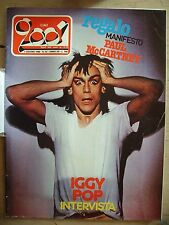 CIAO 2001 1980  N° 22  Iggy Pop