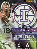 2019-20 ILLUSIONS Basketball NBA 6 PACKS SEALED BLASTER BOX NEW FREE SHIPPING