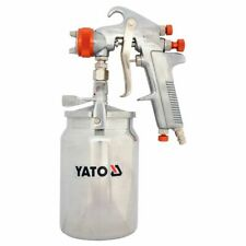 YATO Suction Fed Paint Spray Lacquer Primer Gun 3 Bar 1 L Vehicle Wall YT-2346