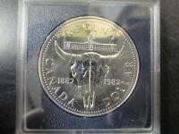 1882-1982 CANADA SILVER DOLLAR PROOF COIN