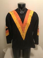 Vtg Vancouver Canucks Flying CCM Maska Jersey Mens Large Sewn/Stitched