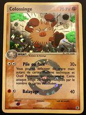 Carte Pokemon COLOSSINGE 28/112 Holo Reverse Rouge Feu Vert Feuille FR NEUF