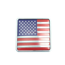 For Ford Mustang American United State US USA Chrome Metal Emblem Badge Sticker