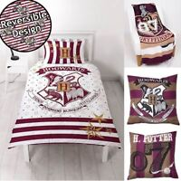 HARRY POTTER Duvet Quilt Cover Bedding Set Single Double Blanket Kids Boys Girls