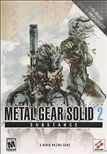 Metal Gear Solid 2: Substance (PC, 2003) - European Version