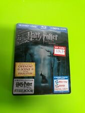 Harry Potter and the Deathly Hallows Part 1 STEELBOOK Bluray FYE Exclusive seale