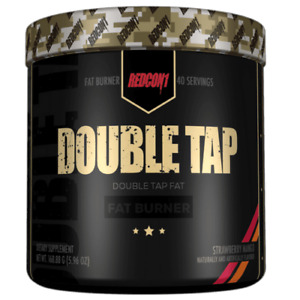 REDCON1 DOUBLE TAP FAST ACTING FAT BURNER - STRONG - ORANGE CRUSH 200g