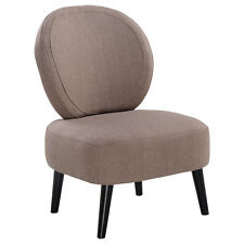 Armless Accent Chair Round Back Dining Chair Home Living Room Furniture New