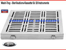 Sterisationskassette für 20 Instrumente Washtray WashTray / Steri-Box