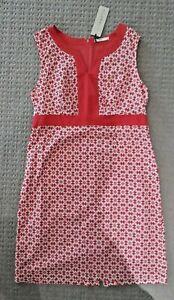 BRAND NEW TAGS  Ladies Size 14 Orange Cotton Geometric Dress Regatta Brand Myer
