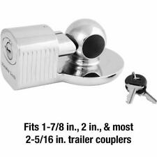 377KA Trailer Hitch Lock, Fits 1-7/8 in., 2 in., and Most 2-5/16 in Couplers