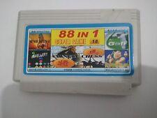 88 in 1 games ( GOLF , ADVENTURE ISLAND, WRESTLING  etc)- Famicom Nes Cartridge