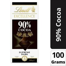 Lindt 90% Cocoa Excellence Supreme Dark Chocolate 100g