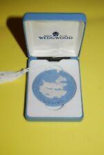 Vintage Wedgwood Jasperware Reindeer Ornament 1997 Collectible Nib England