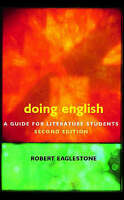 Doing English: A Guide for Literature Students-ExLibrary