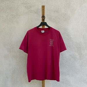 Vintage 1990s Hanes Single Stitch Safford BLM Wildland Firefights T-shirt Fits L