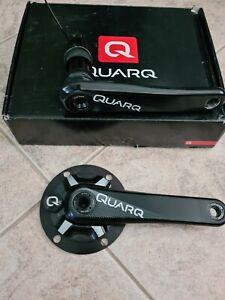 Quarq DFour power meter carbon crankset 172.5 shimano