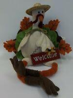 Plush Thanksgiving Autumn Turkey - Welcome - Stuffed Animal