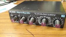 RARE Alesis NanoSynth Synthesizer module rack Midi analog 64 voice