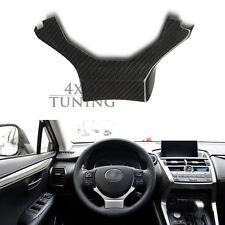 For Lexus CT IS250 IS NX NX200t RC 2014 + Carbon Fiber Steering Wheel Trim Stick