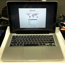 "Used Apple MacBook Pro Core 2 Duo 2.4GHz 13"" 500GB 4GB A1278 2010"