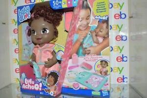 Baby Alive Lulu Achoo Interactive Doll Black Hair 50+ Reactions New