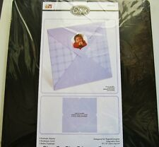 "5 1/2"" x 5 1/2"" Square Envelope Sizzix Bigz PRO Die for Movers & Shapers 656414"