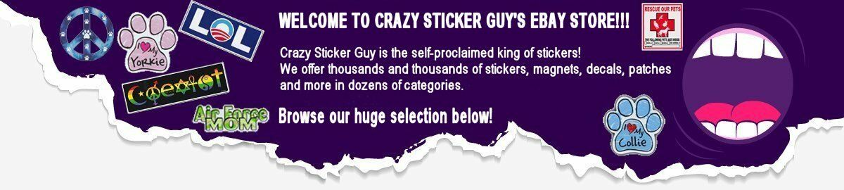 Crazy Sticker Guy Store