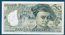 FRANCE - 50 FRANCS QUENTIN DE LA TOUR Fayette n°67.7 de 1981 en NEUF U.22 567053