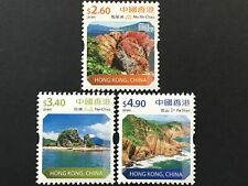 Hongkong 2018 Nr. 2162-64 Freimarken Ansichten Natur Landschaft Küsten