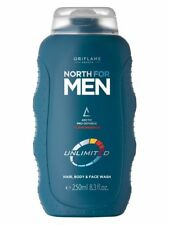 Oriflame North For Men Unlimited Hair, Body & Face Wash 250ml
