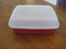 Tupperware Junior Season Serve Marinader -RED- pre owned good condition