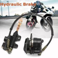 Black Metal Hydraulic Rear Disc Brake Caliper System For Dirt Bike 110cc 125cc