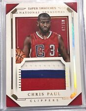2015-16 National Treasures Chris Paul Super Swatches Jumbo Patch 02/10!