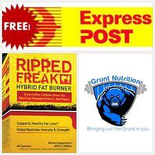 Pharmafreak Ripped Freak Hybrid Fat Burner 60 Capsules Supports Healthy Fat Loss
