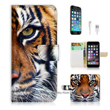 ( For iPhone 8 Plus / iPhone 8+ ) Case Cover P0029 Tiger Face