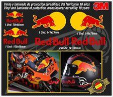 stickers-pegatinas-aufkleber-autocollants-adesivi, YELLOW RED BULL set Helmet
