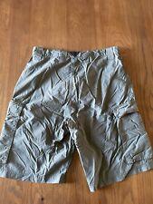 Boy Scouts Bsa Mens Adult Centennial Uniform Cargo Shorts 100% Nylon Green Small