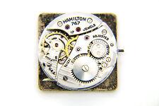 Hamilton Handaufzug Uhrwerk - Kaliber 747 inkl. Zifferblatt, Zeiger