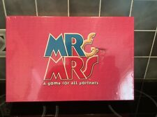 MR and MRS Board Game - A Game For All Partners by UPSTARTS! 2001, 100% Complete