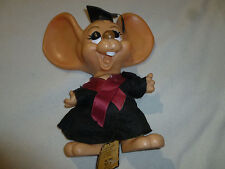"10"" GRADUATION BANK ROY DES OF FLA BIG EARED MOUSE COIN MONEY BANK FLORIDA 1970"