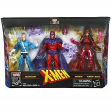 MARVEL LEGENDS FAMILY MATTERS 3 PACK MAGNETO QUICKSILVER & SCARLET WITCH