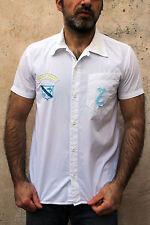 DIESEL ragazzo casual vintage 90s shirt bianco cotone a maniche corte XXL Da Uomo S Small