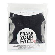 Danielle ERASE YOUR FACE Reusable Makeup Removing Cloth BLACK