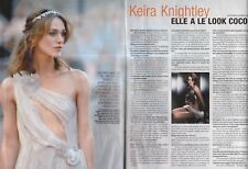 Coupure de presse Clipping 2007 Keira Knightley  (2 pages)